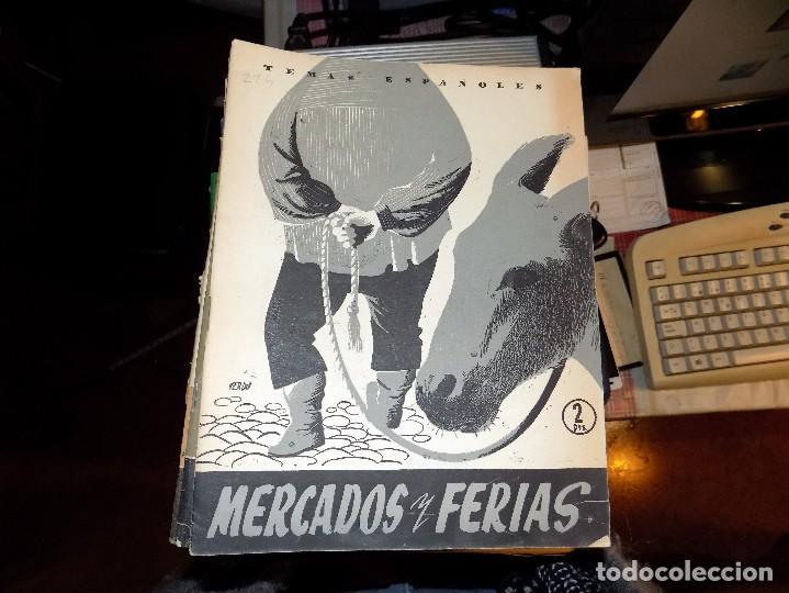 MERCADOS Y FERIAS. NUM 214. LUIS AGUIRRE PRADO. MADRID, 1955 (Papel - Revistas y Periódicos Modernos (a partir de 1.940) - Revista Temas Españoles)