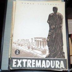 Coleccionismo de Revista Temas Españoles: EXTREMADURA. NUM 87. BERTA PENSADO. MADRID, 1954. Lote 70359677