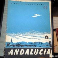 Coleccionismo de Revista Temas Españoles: ANDALUCÍA. NUM 44. CARLOS DE ARNEDO. MADRID, 1953. Lote 70359953