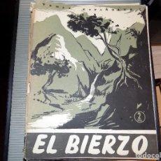 Coleccionismo de Revista Temas Españoles: EL BIERZO. NUM 305. LUIS AGUIRRE PRADO. MADRID, 1957. Lote 70360021