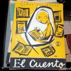 Coleccionismo de Revista Temas Españoles: EL CUENTO. NUM 297. CARLOS EGUIA. MADRID, 1957. Lote 70360437