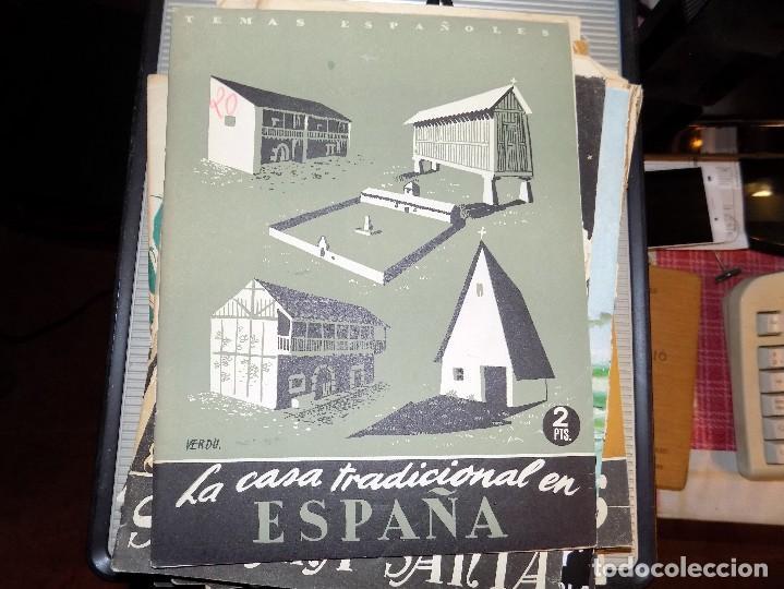 LA CASA TRADICIONAL EN ESPAÑA. NUM 20. NIEVES HOYOS. MADRID, 1952 (Papel - Revistas y Periódicos Modernos (a partir de 1.940) - Revista Temas Españoles)