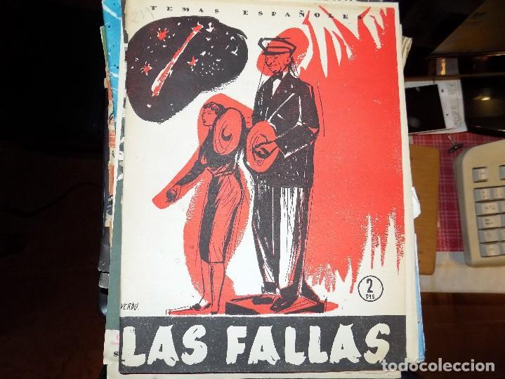 LAS FALLAS. NUM 239. LUIS OTERO BRAVO. MADRID,1956 (Papel - Revistas y Periódicos Modernos (a partir de 1.940) - Revista Temas Españoles)