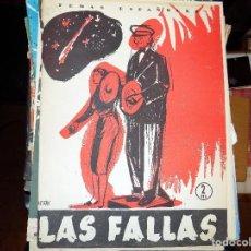 Coleccionismo de Revista Temas Españoles: LAS FALLAS. NUM 239. LUIS OTERO BRAVO. MADRID,1956. Lote 70429285