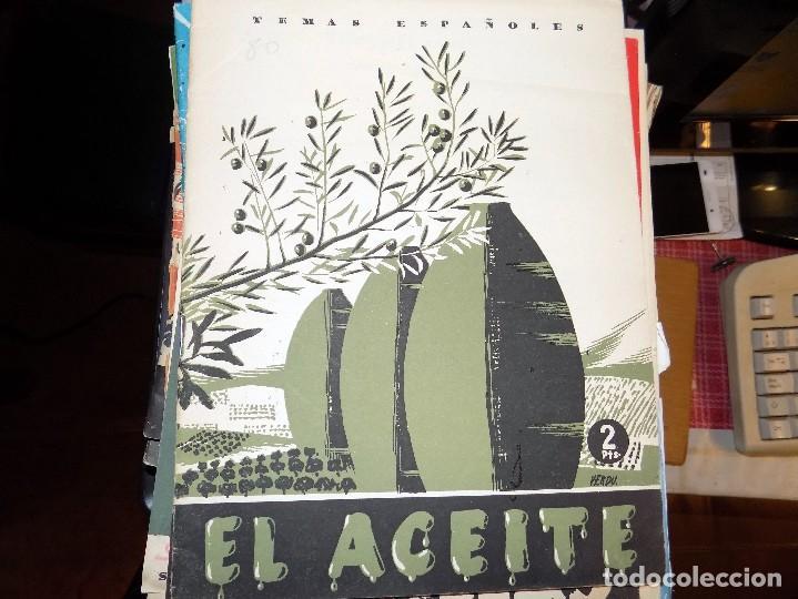 EL ACEITE. NUM 60. MIGUEL RODRÍGUEZ PANTOJA. MADRID, 1954 (Papel - Revistas y Periódicos Modernos (a partir de 1.940) - Revista Temas Españoles)