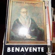 Coleccionismo de Revista Temas Españoles: JACINTO BENAVENTE. NUM 474. LUIS AGUIRRE PRADO. MADRID, 1966. Lote 70437369