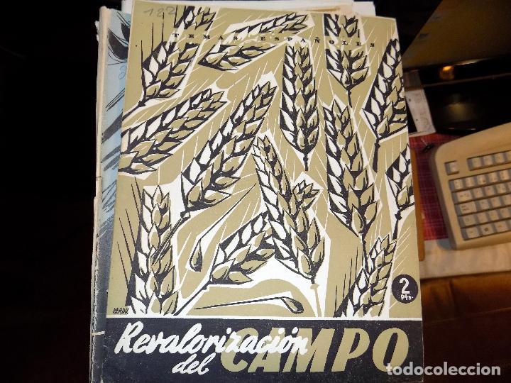 REVAROLIZACIÓN DEL CAMPO. NUM 122. BERTA PENSADO. MADRID, 1955 (Papel - Revistas y Periódicos Modernos (a partir de 1.940) - Revista Temas Españoles)