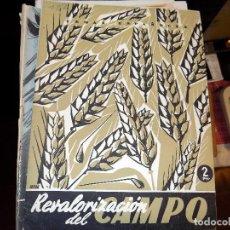 Coleccionismo de Revista Temas Españoles: REVAROLIZACIÓN DEL CAMPO. NUM 122. BERTA PENSADO. MADRID, 1955. Lote 70439425