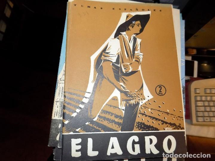EL AGRO. NUM 331. LUIS AGUIRRE PRADO. MADRID, 1957 (Papel - Revistas y Periódicos Modernos (a partir de 1.940) - Revista Temas Españoles)