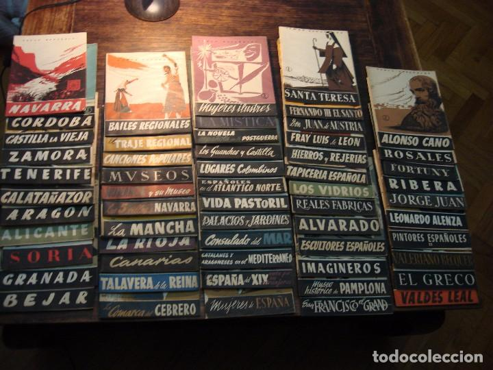 Coleccionismo de Revista Temas Españoles: MAGNÍFICO LOTE DE 57 REVISTAS DE LOS AÑOS 50 SOBRE TEMAS ESPAÑOLES. VER FOTOGRAFÍAS - Foto 2 - 71855931