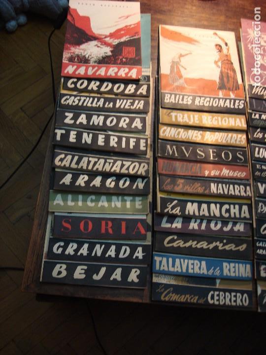 Coleccionismo de Revista Temas Españoles: MAGNÍFICO LOTE DE 57 REVISTAS DE LOS AÑOS 50 SOBRE TEMAS ESPAÑOLES. VER FOTOGRAFÍAS - Foto 3 - 71855931