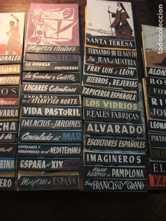 Coleccionismo de Revista Temas Españoles: MAGNÍFICO LOTE DE 57 REVISTAS DE LOS AÑOS 50 SOBRE TEMAS ESPAÑOLES. VER FOTOGRAFÍAS - Foto 4 - 71855931