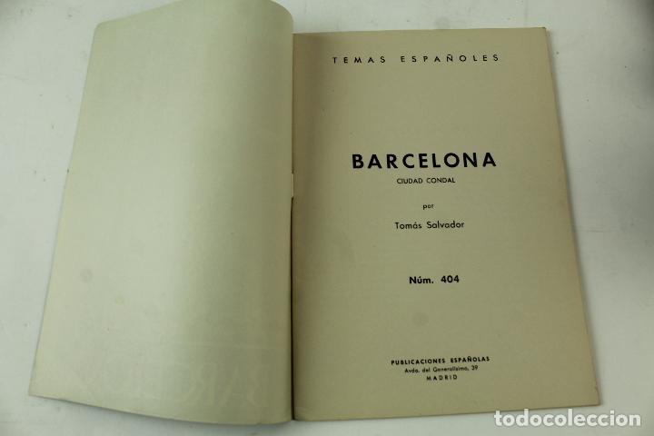Coleccionismo de Revista Temas Españoles: L- 4406. LOTE DE 75 REVISTAS TEMAS ESPAÑOLES, AÑOS 50/60. - Foto 13 - 72450739