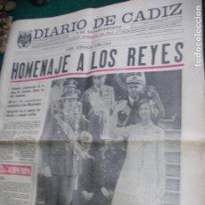 Coleccionismo de Revista Temas Españoles: DIARIO DE CADIZ VIERNES 28 NOVIEMBRE 1.975. Lote 74328207