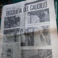 Coleccionismo de Revista Temas Españoles: DIARIO DE CADIZ BIOGRAFÍA DE FRANCO. Lote 74343739