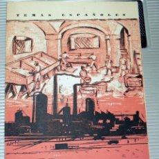 Coleccionismo de Revista Temas Españoles: TEMAS ESPAÑOLES. LA INDUSTRIA DEL PAPEL. NUMERO 373. MADRID. 1958. Lote 77404341
