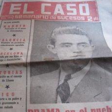 Coleccionismo de Revista Temas Españoles: SEMANARIO DE SUCESOS EL CASO Nº 480 AÑO 1961. Lote 80344405