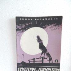 Coleccionismo de Revista Temas Españoles: REVISTA TEMAS ESPAÑOLES. AGRICULTURA Y CUNICULTURA. N. 112. AÑO 1954.. Lote 82353528