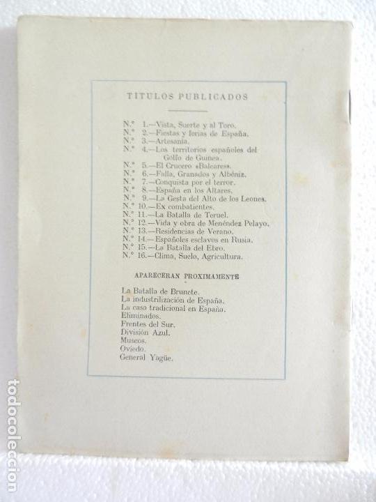 Coleccionismo de Revista Temas Españoles: REVISTA TEMAS ESPAÑOLES. CLIMA, SUELO Y AGRICULTURA. N. 16 AÑO 1952. - Foto 2 - 82354176