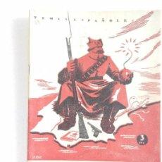 Coleccionismo de Revista Temas Españoles: REVISTA TEMAS ESPAÑOLES. EL COMUNISMO EN ESPAÑA. N. 49 AÑO 1959.. Lote 82354388