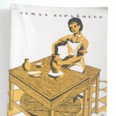 Coleccionismo de Revista Temas Españoles: REVISTA TEMAS ESPAÑOLES. GREMIOS ARTESANOS. N. 99 2ª EDICIÓN. AÑO 1959.. Lote 82354740