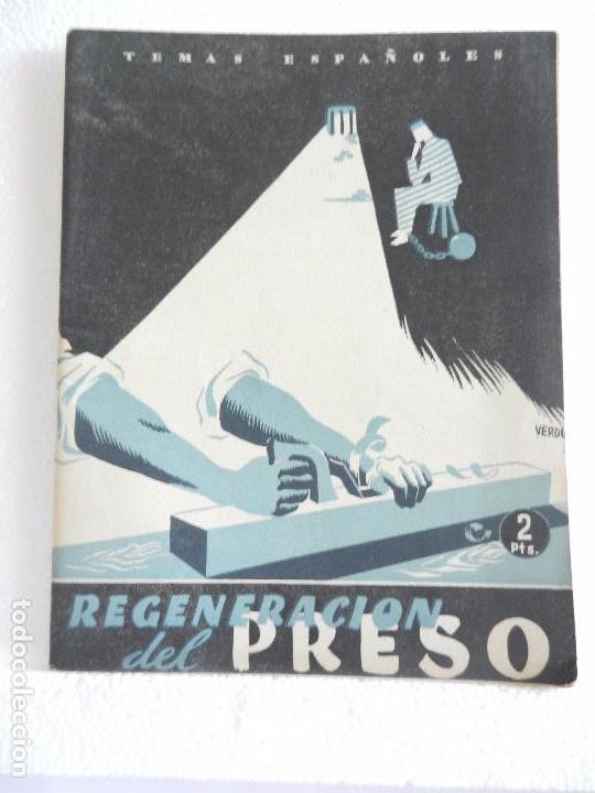 REVISTA TEMAS ESPAÑOLES. REGENERACIÓN DEL PRESO. N. 27 AÑO 1953. (Papel - Revistas y Periódicos Modernos (a partir de 1.940) - Revista Temas Españoles)