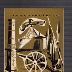 Coleccionismo de Revista Temas Españoles: TEMAS ESPAÑOLES - Nº 97 - MUSEO DEL EJERCITO 1959 / ILUSTRADO FOTOS. Lote 85070868