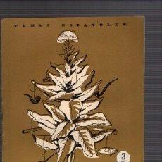 Coleccionismo de Revista Temas Españoles: TEMAS ESPAÑOLES - Nº 227 - EL TABACO 1956 / ILUSTRADO FOTOS. Lote 85073648
