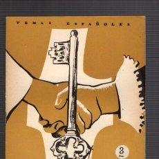 Coleccionismo de Revista Temas Españoles: TEMAS ESPAÑOLES - Nº 304 - SPINOLA 1957 / ILUSTRADO FOTOS. Lote 85074400