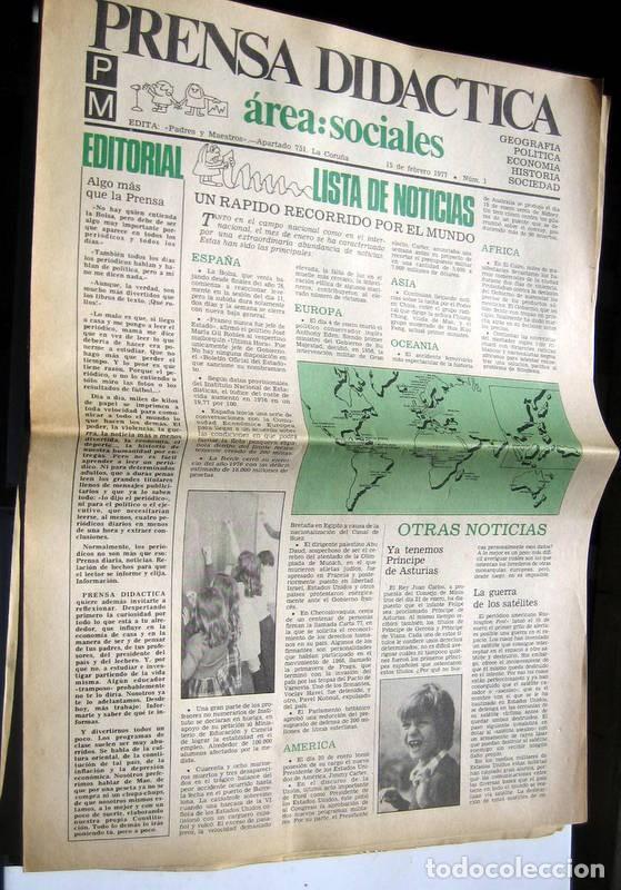 Coleccionismo de Revista Temas Españoles: PRENSA DIDÁCTICA - nº 1 al 9 - Foto 3 - 86094524