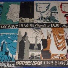Coleccionismo de Revista Temas Españoles: LOTE DE 10 REVISTAS DE TEMAS ESPAÑOLES. Lote 86244216