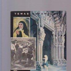 Coleccionismo de Revista Temas Españoles: TEMAS ESPAÑOLES - Nº 442 - RELACION ESPAÑA EUROPA I - MADRID 1963 / ILUSTRADO. Lote 87519816