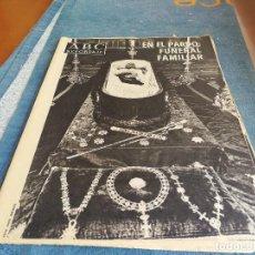 Coleccionismo de Revista Temas Españoles: PERIODICO ABC - FRANCO , FUNERAL FAMILIAR EN EL PARDO. Lote 87588384