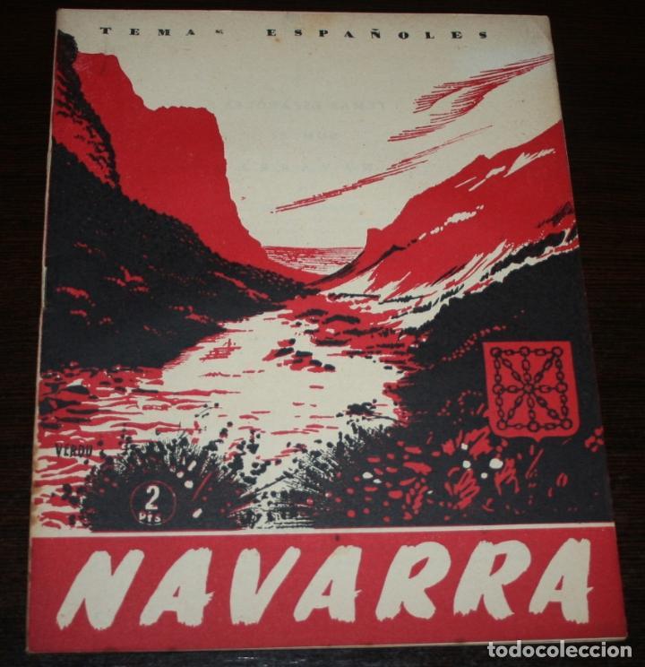 TEMAS ESPAÑOLES Nº 51 - NAVARRA - 1953 (Papel - Revistas y Periódicos Modernos (a partir de 1.940) - Revista Temas Españoles)
