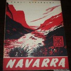 Coleccionismo de Revista Temas Españoles: TEMAS ESPAÑOLES Nº 51 - NAVARRA - 1953. Lote 88924676