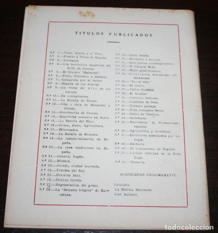 Coleccionismo de Revista Temas Españoles: TEMAS ESPAÑOLES Nº 51 - NAVARRA - 1953 - Foto 2 - 88924676