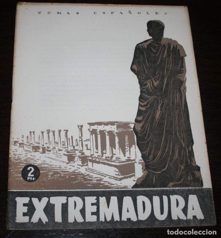 TEMAS ESPAÑOLES Nº 87 - EXTREMADURA - 1954 (Papel - Revistas y Periódicos Modernos (a partir de 1.940) - Revista Temas Españoles)