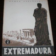 Coleccionismo de Revista Temas Españoles: TEMAS ESPAÑOLES Nº 87 - EXTREMADURA - 1954. Lote 88926508