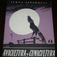 Coleccionismo de Revista Temas Españoles: TEMAS ESPAÑOLES Nº 112 - AVICULTURA Y CUNICULTURA - 1954. Lote 88926604