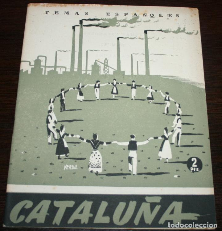 TEMAS ESPAÑOLES Nº 52 - CATALUÑA - 1953 (Papel - Revistas y Periódicos Modernos (a partir de 1.940) - Revista Temas Españoles)