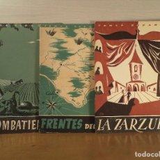Coleccionismo de Revista Temas Españoles: EXCOMBATIENTES.- FRENTES DEL SUR.- LA ZARZUELA,. Lote 89308780