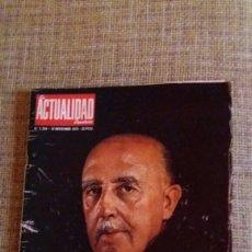 Coleccionismo de Revista Temas Españoles: REVISTA ACTUALIDAD FRANCO UN HOMBRE EXCEPCIONAL. Lote 89345420