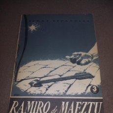 Coleccionismo de Revista Temas Españoles: RAMIRO DE MAEZTU. TEMAS ESPAÑOLES, NÚM. 108 - AGUIRRE PRADO, LUIS REF. EST. 236. Lote 91261710