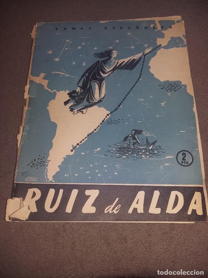 TEMAS ESPAÑOLES, RUIZ DE ALDA, Nº 165 REF. EST. 236 (Papel - Revistas y Periódicos Modernos (a partir de 1.940) - Revista Temas Españoles)