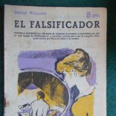 Coleccionismo de Revista Temas Españoles: REVISTA LITERARIA NOVELA Y CUENTOS AÑOS 50 Y 60 EL FALSIFICADOR. Lote 91696440