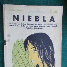 Coleccionismo de Revista Temas Españoles: REVISTA LITERARIA NOVELA Y CUENTOS AÑOS 50 Y 60 - NIEBLA. Lote 91783340