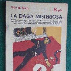Coleccionismo de Revista Temas Españoles: REVISTA LITERARIA NOVELA Y CUENTOS AÑOS 50 Y 60 - LA DAGA MISTERIOSA. Lote 91783700