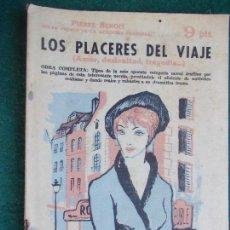 Coleccionismo de Revista Temas Españoles: REVISTA LITERARIA NOVELA Y CUENTOS AÑOS 50 Y 60 -LOS PLACERES DEL VIAJE PIERRE BENOIT. Lote 91885800