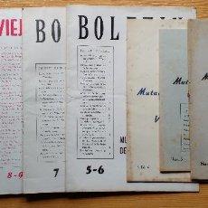 Coleccionismo de Revista Temas Españoles: BOLETIN DE LA MUTUALIDAD NACIONAL DE LA VIEJA GUARDIA 1954-1955-1956-1957-1958. Lote 91947485