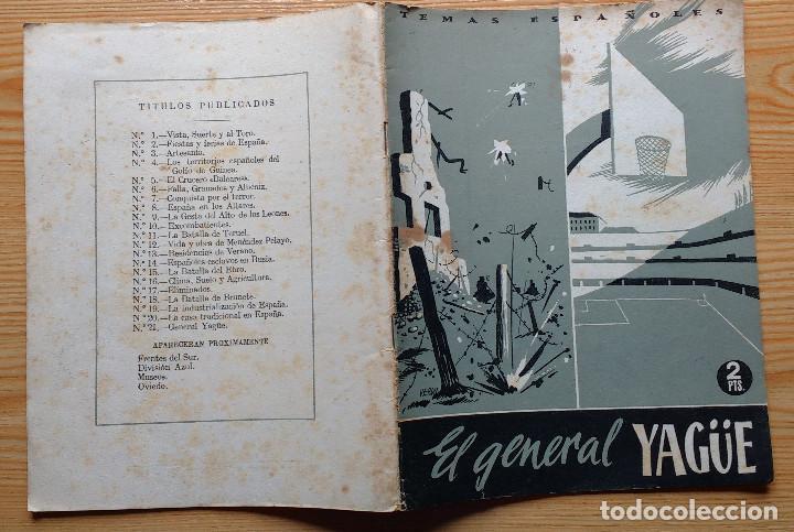 Coleccionismo de Revista Temas Españoles: TEMAS ESPAÑOLES - EL GENERAL YAGÜE - Nº 21-1953 - Foto 6 - 95154623